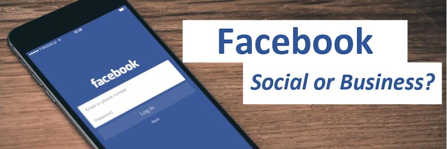 Facebook-social-or-business