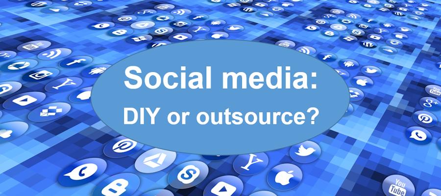 Social media: DIY or outsource?