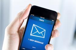 newsletter on smart phone